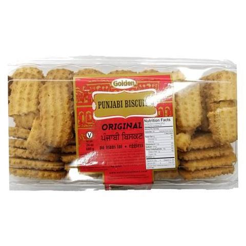 Golden Punjabi Biscuits Original 24 OZ (680 Grams)