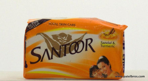 Santoor Honey & Almond Oil Soap