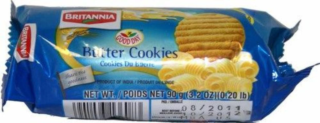 Britannia Butter Cookies 90 Grams (3.2 OZ) (0.20 LB)