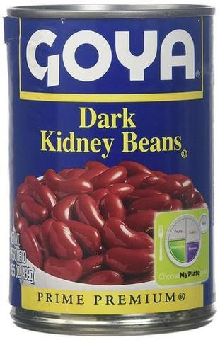 Goya Dark Kidney Beans 15 OZ (427 Grams)
