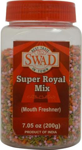 Swad Super Royal Mix Mouth Freshner 7.05 OZ (200 Grams)