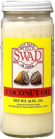 Swad Coconut Oil 1 LB (16 FL.OZ) 454 Grams