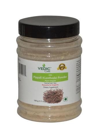 Vedic Care 100% Pippali (Ganthoda) Powder Dietary Supplement