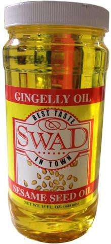 Swad Gingelly Oil (Sesame Seed Oil) 15 FL.OZ (444 ML)