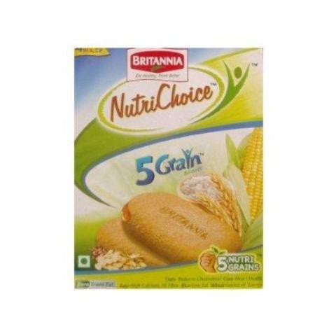 Britannia Nutri Choice 5 Grain Biscuits