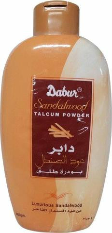 Dabur Sandalwood Talcum Powder 400 Grams