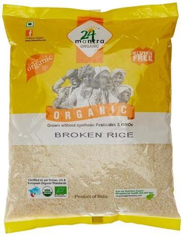24 Mantra Broken Rice Org 10 LB (4535 Grams)