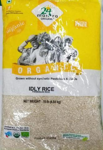 24 Mantra Idly Rice (parboiled Rice ) 10 LB (4535 Grams)