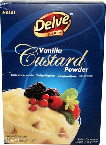 Shan Delve Desserts Vanilla Custard Powder 8.8 OZ (250 Grams)