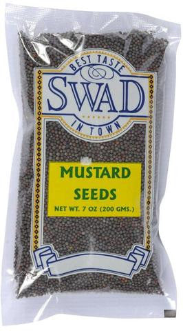 Swad Mustard Seeds 7 OZ (200 Grams)