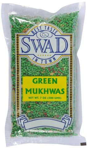 Swad Green Mukhwas 7 OZ