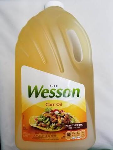 Wesson Corn Oil 3.79 LT