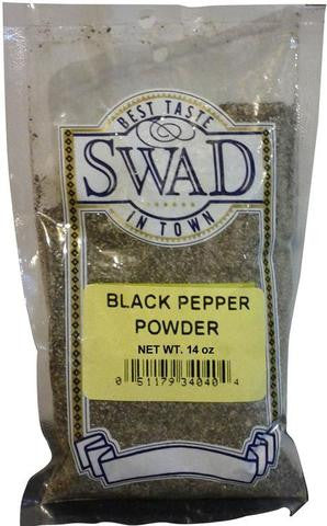 Swad Black Pepper Powder 14 OZ (400 Grams)