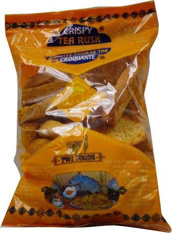 Twi Foods Crispy Tea Rusk (The Toast To The Crunchy) 7 OZ (200 Grams)