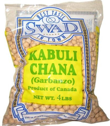 Swad Kabuli Chana (Garbanzo) 4 LBS (1816 Grams)