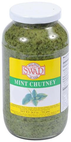 Swad Mint Chutney 26.5 OZ (751 Grams)