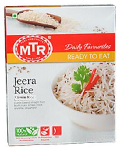 MTR Jeera Rice (Cumin Rice) 250 Grams (8.82 OZ)