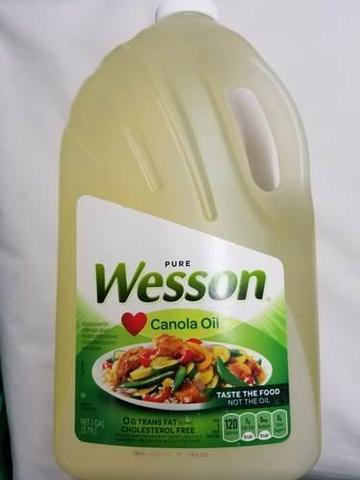 Wesson Canola Oil 3.79 LT