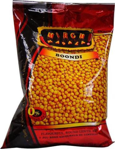 Mirch Masala Boondi 340 Grams (12 OZ)