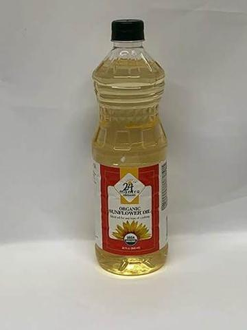 24 Mantra Sunflower Oil 32 OZ (907 Grams)