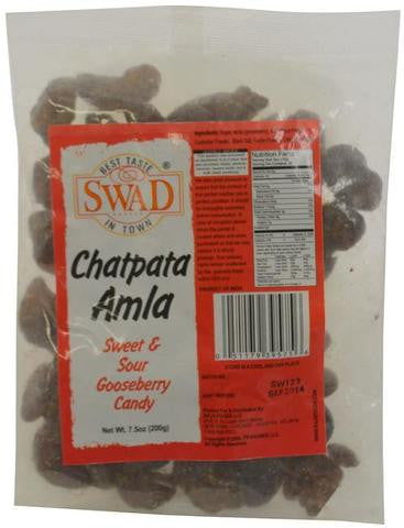 Swad Chatpata Amla Sweet & Sour Gooseberry Candy 7.5 OZ