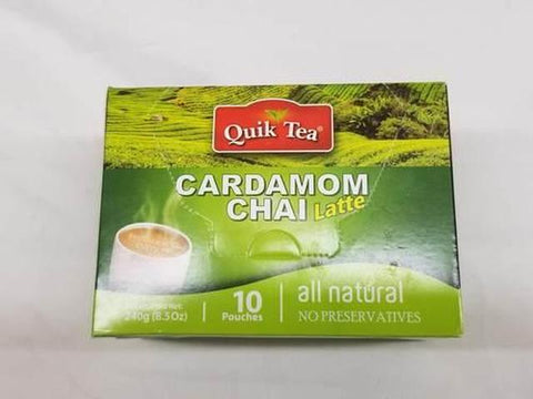 Quik Tea Cardamom Chai 8 OZ (241 Grams)