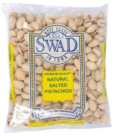 Swad Premium Quality Natural Salted Pistachios 56 OZ (1590 Grams)