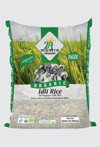 24 Mantra Idli Rice 10 LB (4535 Grams)