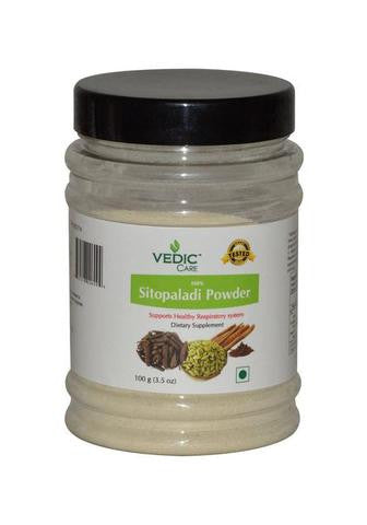 Vedic Care 100% Sitopalade Powder (Dietary Supplement) 3.5 OZ