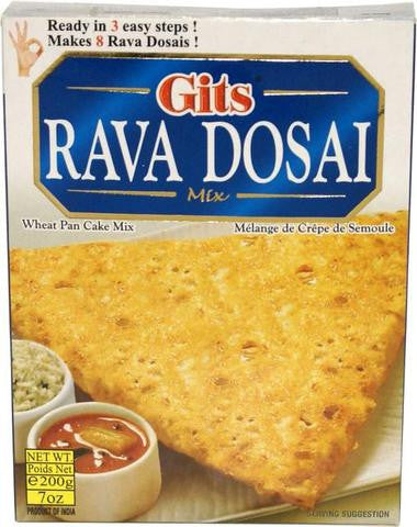 Gits Rava Dosai Mix 200 Grams (7 OZ)