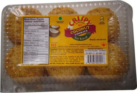 Twi Foods Crispy Coconut Cookies 0.88 LB (14.1 OZ) 400 Grams