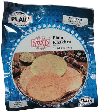 Swad Plain Khakhra 7 OZ (200 Grams)