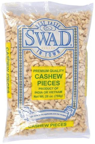 Swad Cashew Pieces 28 OZ (794 Grams)