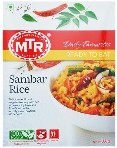 MTR Sambar Rice 300 Grams (10.58 OZ)
