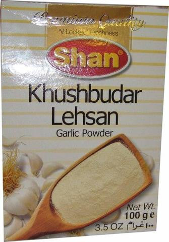 Shan Khushbudar Lehsan Garlic Powder 100 Grams (3.5 OZ)