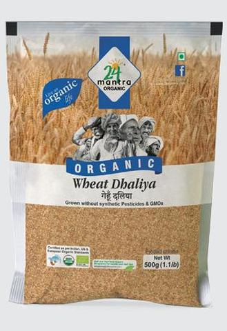 24 Mantra Wheat Daliya 2 LB (907 Grams)