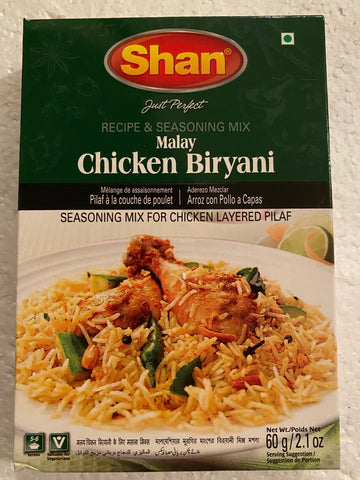 Shan Malay Chicken Biryani 60gm