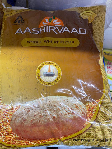 Aashirvaad Whole Wheat Flour 10 LB