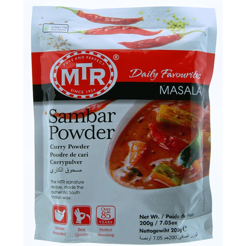 MTR Madras Rasam Powder 200 Grams (7.0 OZ)