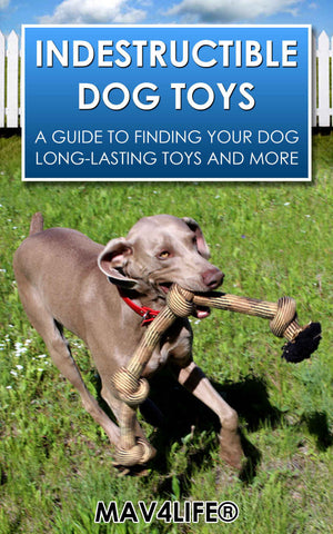 INDESTRUCTIBLE DOG TOYS: A Guide to Finding Your Dog Long-Lasting Toys and More