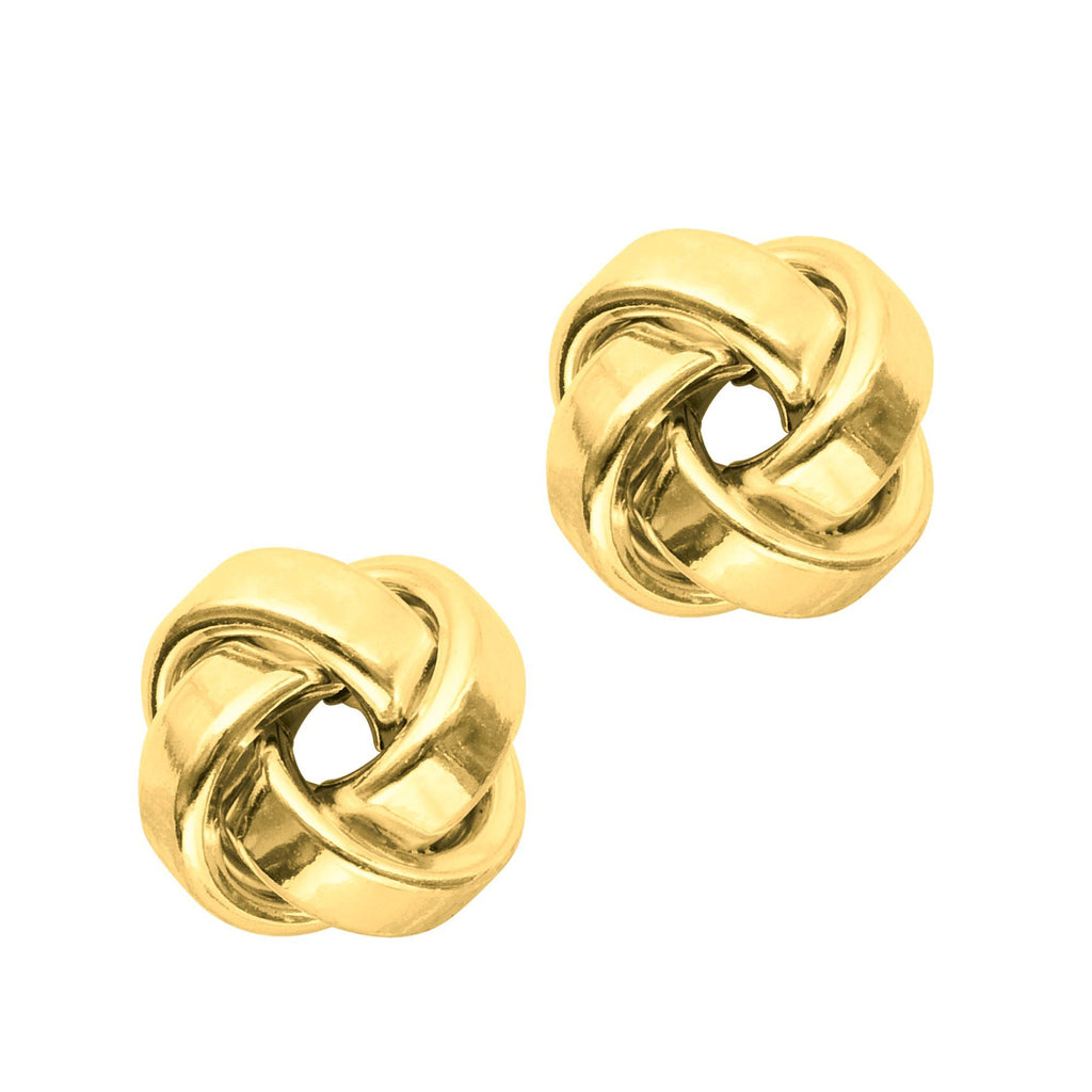 14K Solid White /& Yellow Gold Replacement Single Push Back for Stud Earrings