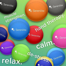 Serenilite Dual Colored Hand Therapy Stress Ball - Ocean Breeze