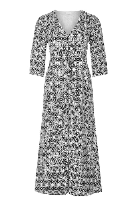 Belgravia Dress - Black and White
