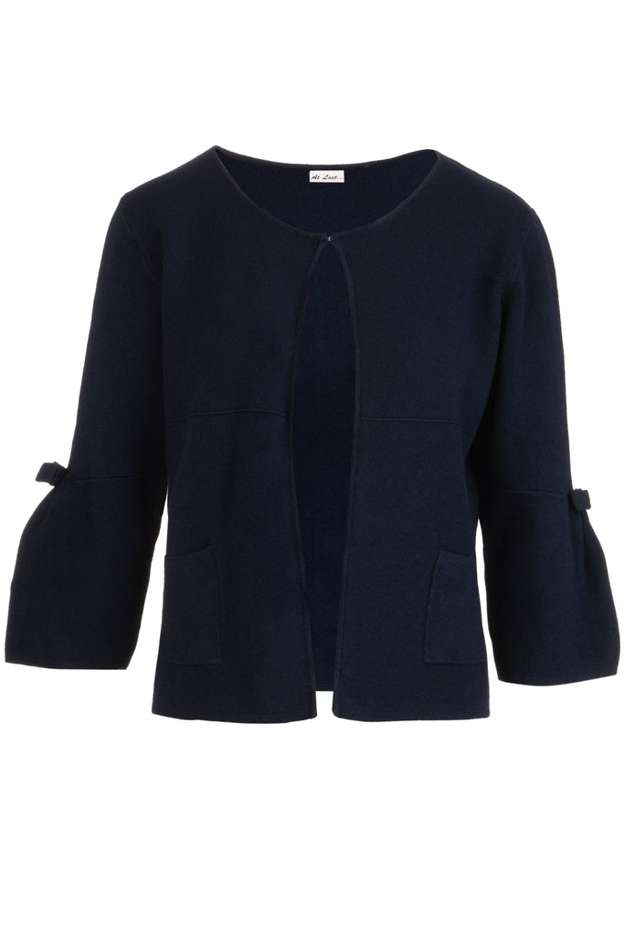 Navy Knitwear Cardigan/Jacket