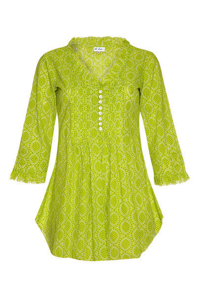 Sophie Cotton shirt - Lime