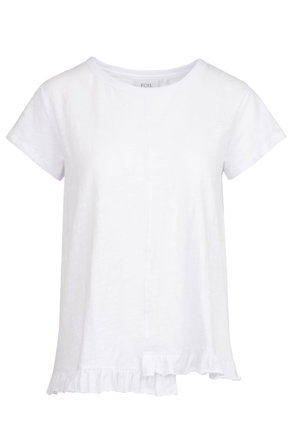 Cotton T- Shirt by 'Foil' in White
