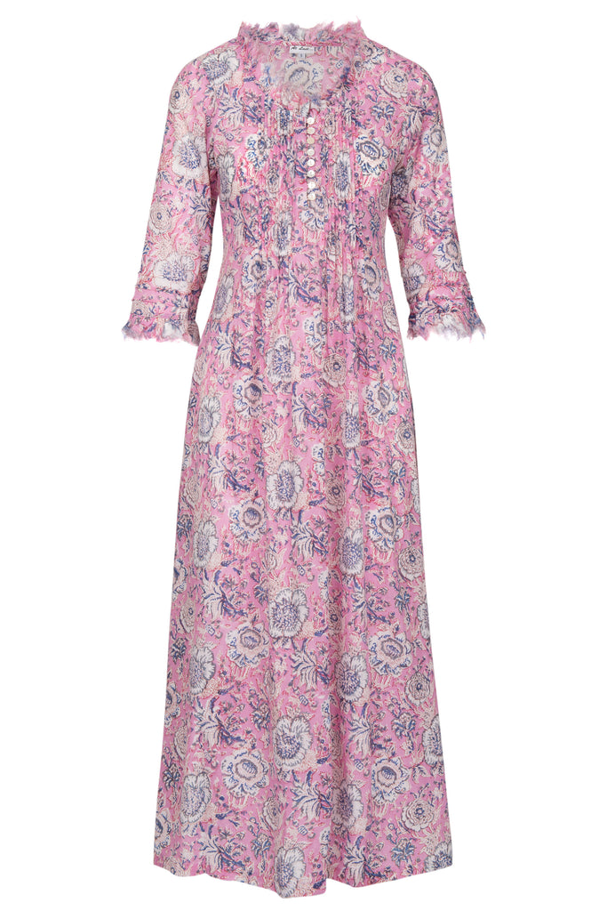 Annabel Maxi Dress - Pink Flower