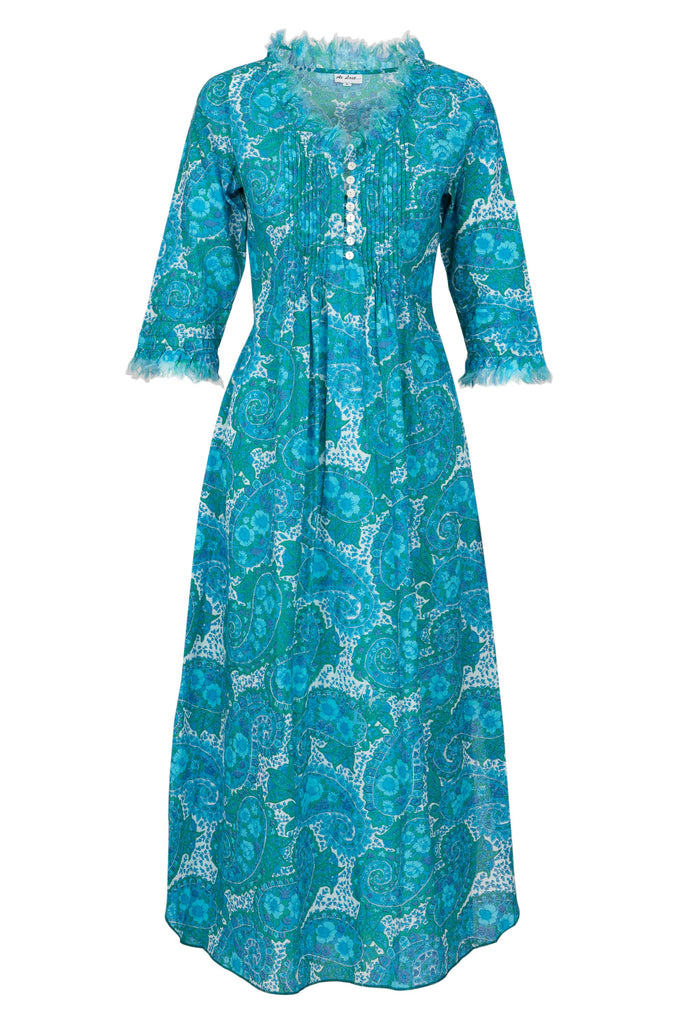 Annabel Maxi Dress - Sea Blue 2019-115
