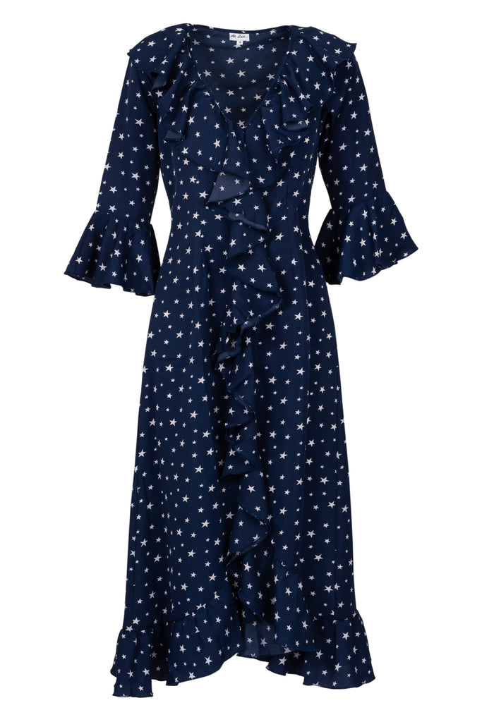 Felicity Dress - Navy Star AH74