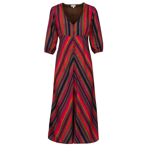 Belgravia Dress - Stripe